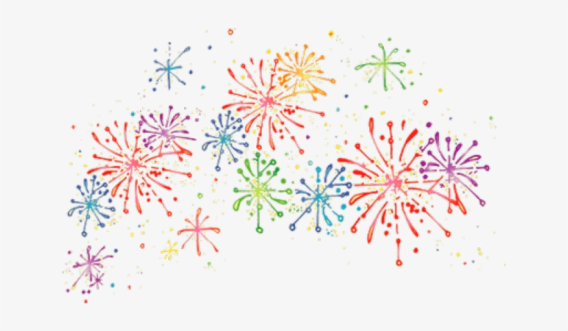 Clip Art Fireworks Cartoon.
