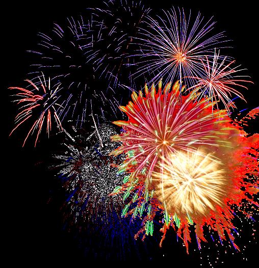 Fireworks Background clipart.