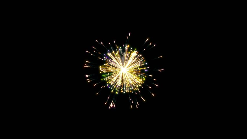 Fireworks Display Free Stock Video Footage Download Clips.