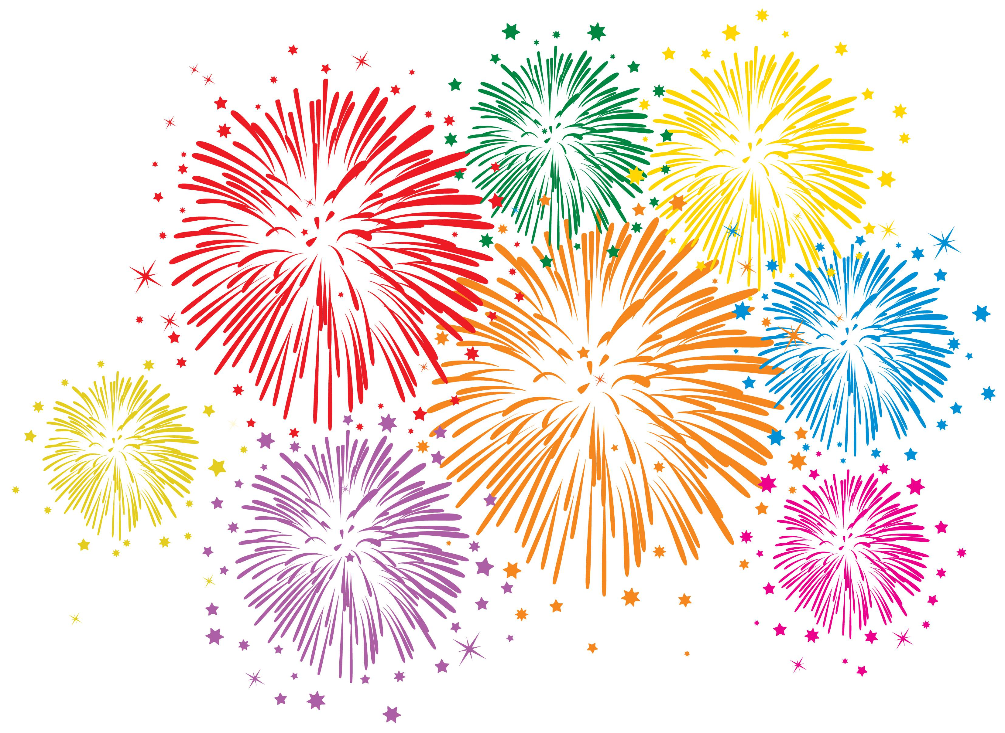 932 Firework free clipart.