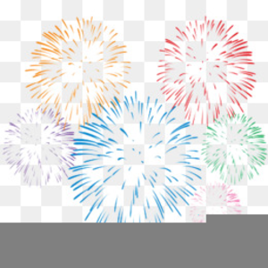 Free Clipart Celebration Fireworks.
