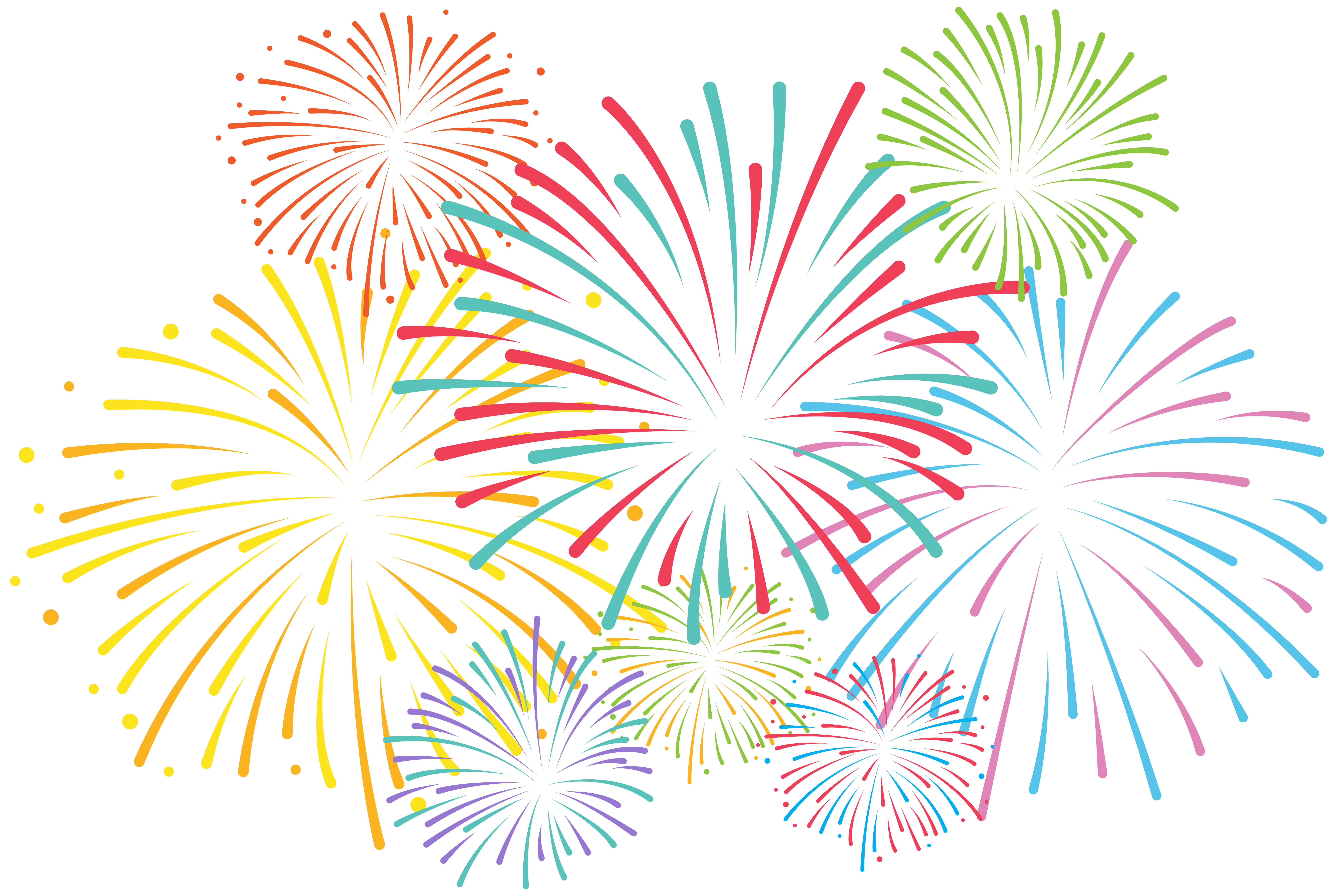 Download Fireworks Free Clipart HD HQ PNG Image in different.