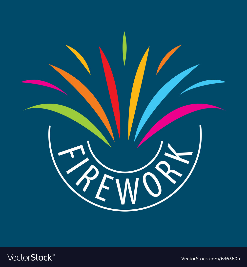 Abstract logo for the celebrations and fireworks.