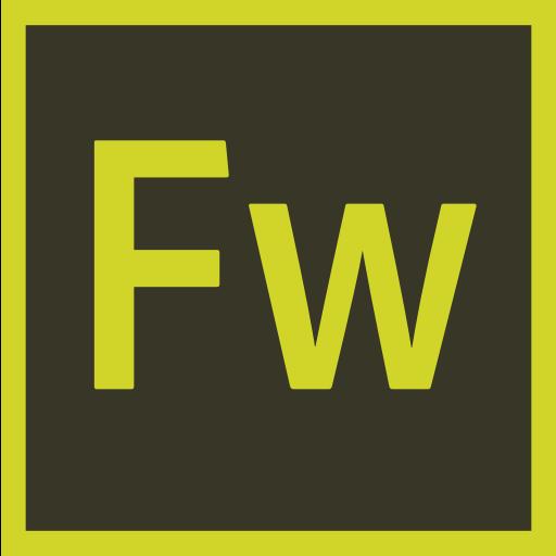 Adobe, fireworks, logo, logos icon.