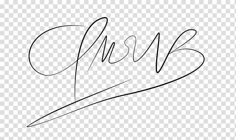 Digital signature Angle, Firma transparent background PNG.