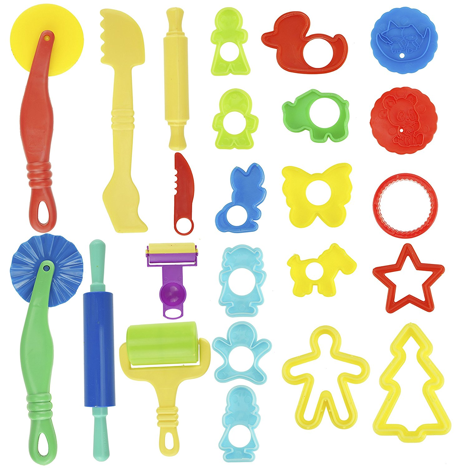 Amazon.com: Kare & Kind Smart Dough Tools Kit with Models and.