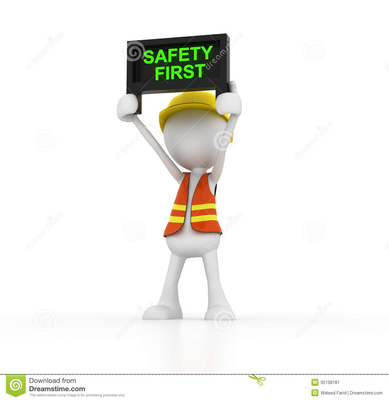Safety First Clip Art.