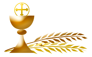 Firs Communion Clipart.