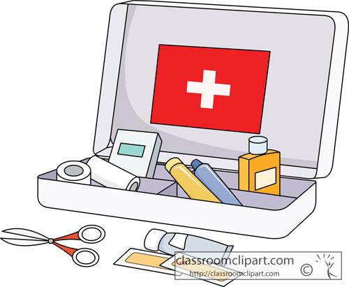 First Aid Kit Clip Art.