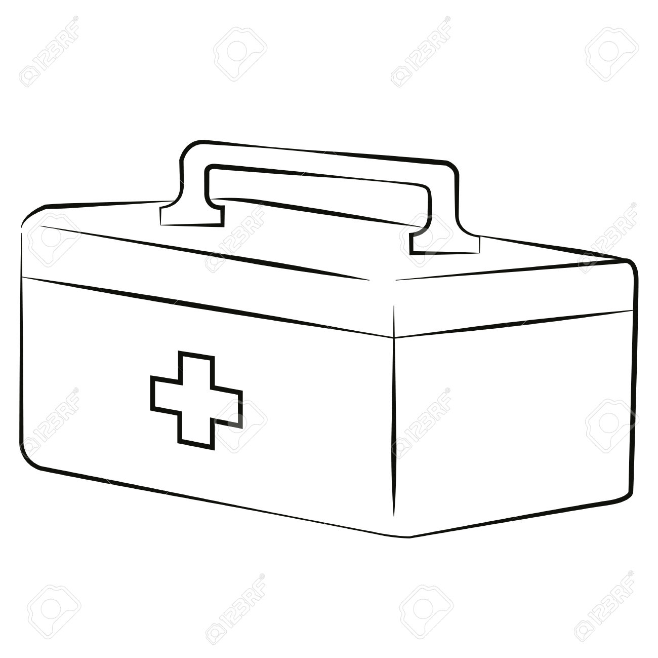 771 First Aid Kit free clipart.