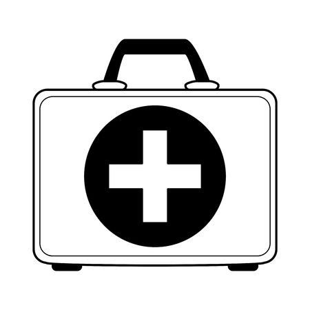 First aid kit clipart black and white 4 » Clipart Station.