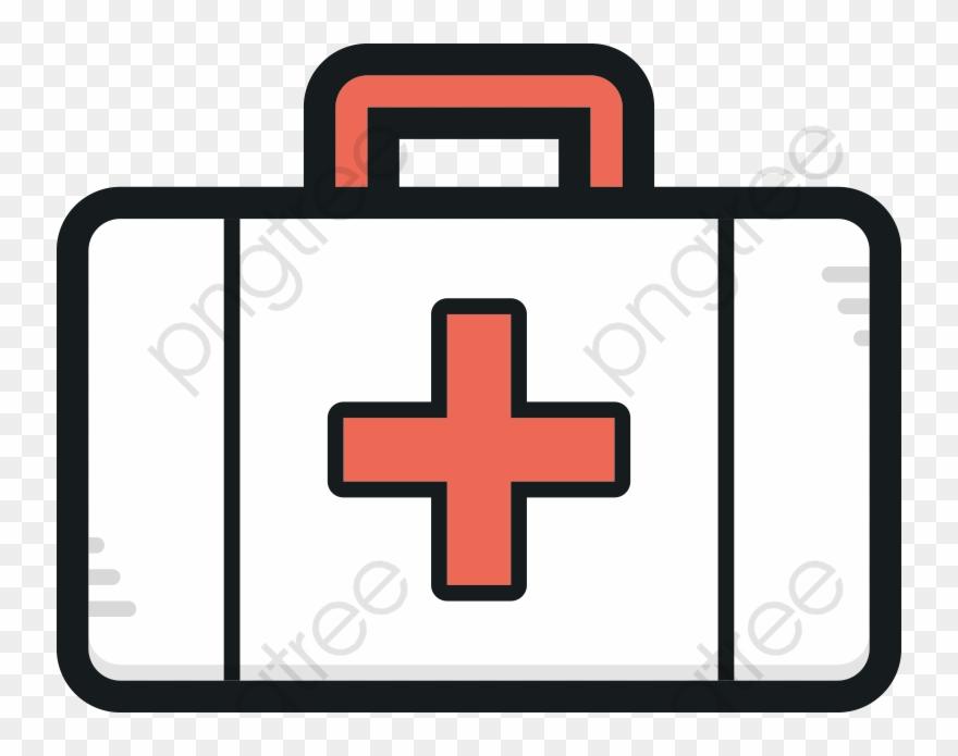 Cartoon First Aid Kit Kit Clipart.