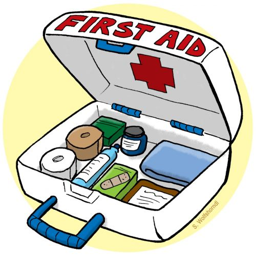 First Aid Kit Clipart.