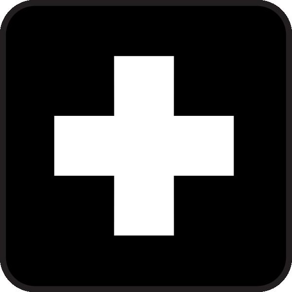 First Aid Map Sign 2 Clip Art at Clker.com.