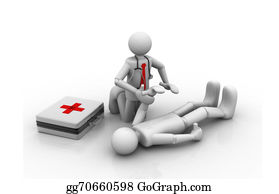 First Aid Training Stock Illustrations.