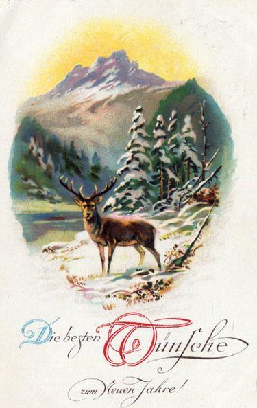 vintage card 1932.