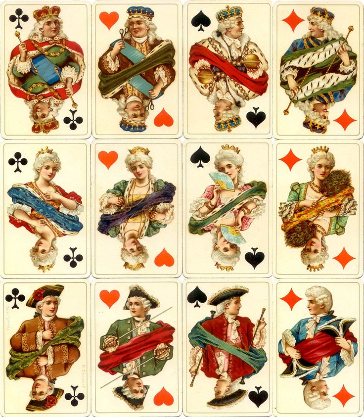 1000+ images about Vintage playing cards on Pinterest.