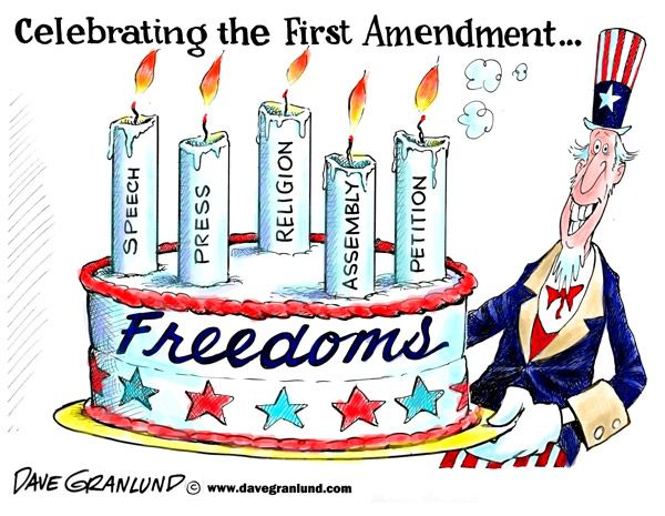 The Ten Amendments of the US Constitution.