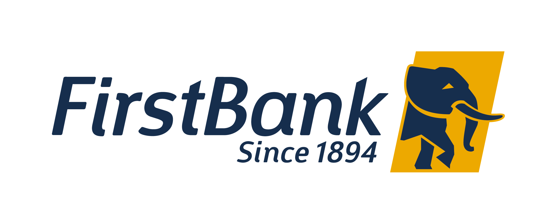 First Bank Nigeria Logo.