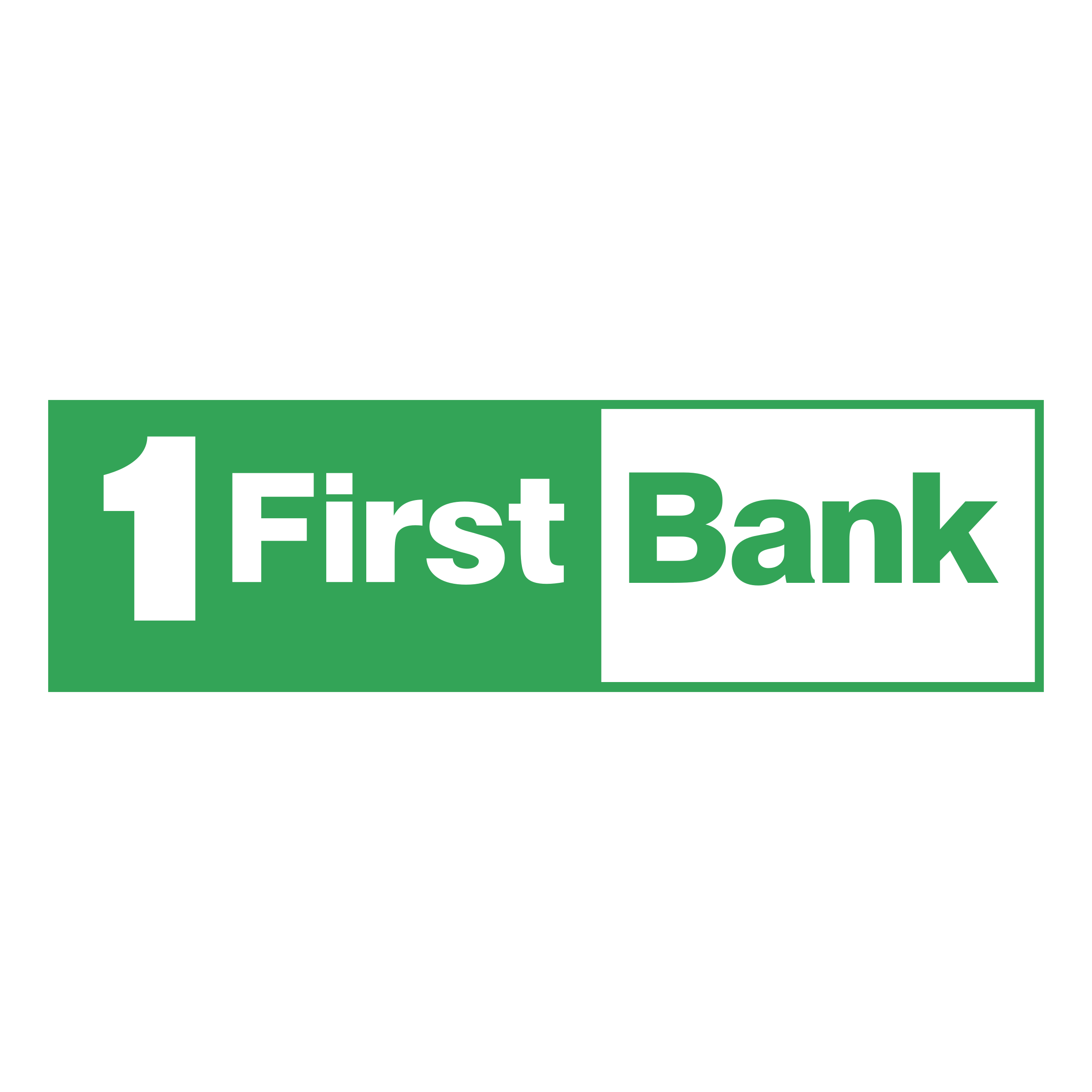 First Bank Logo PNG Transparent & SVG Vector.