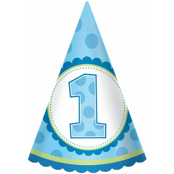 1st Birthday Boy Clipart.