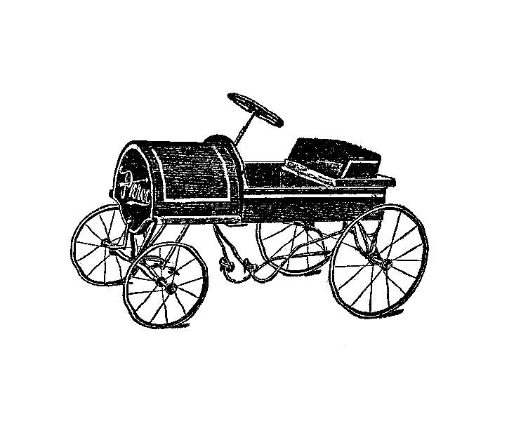 Free Clipart Of The First Car.