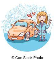 first car clipart #6