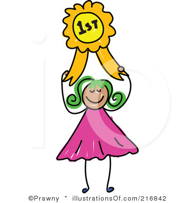 First Place Clipart.