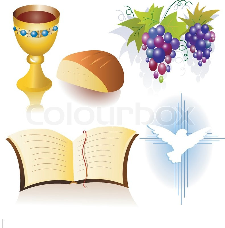 First Communion Clip Art Borders free image.
