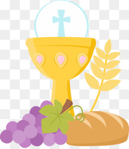 First Communion Chalice clipart.