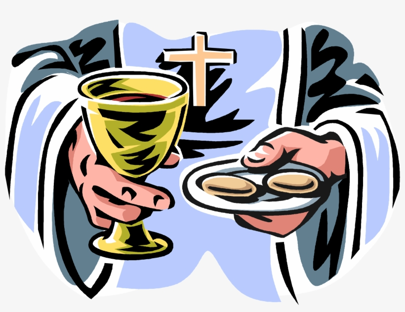 Catholic Drawing First Communion.