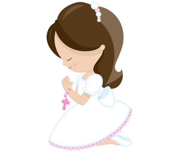 Clipart girl first communion, Clipart girl first communion.