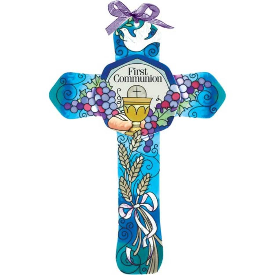 First Communion Cross Clip Art N5 free image.