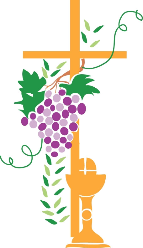 First Communion Cross Clipart.