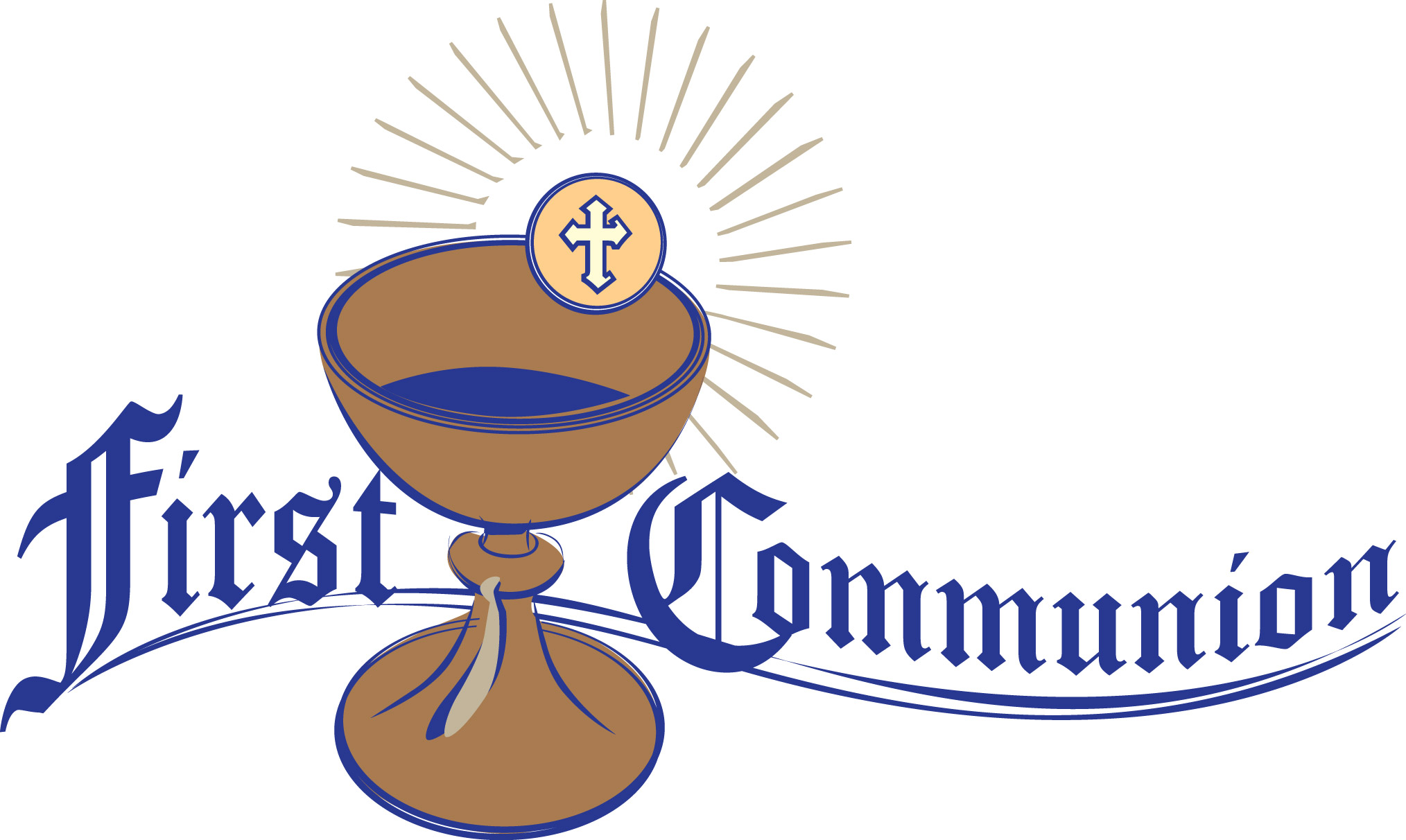 First Communion Clipart.