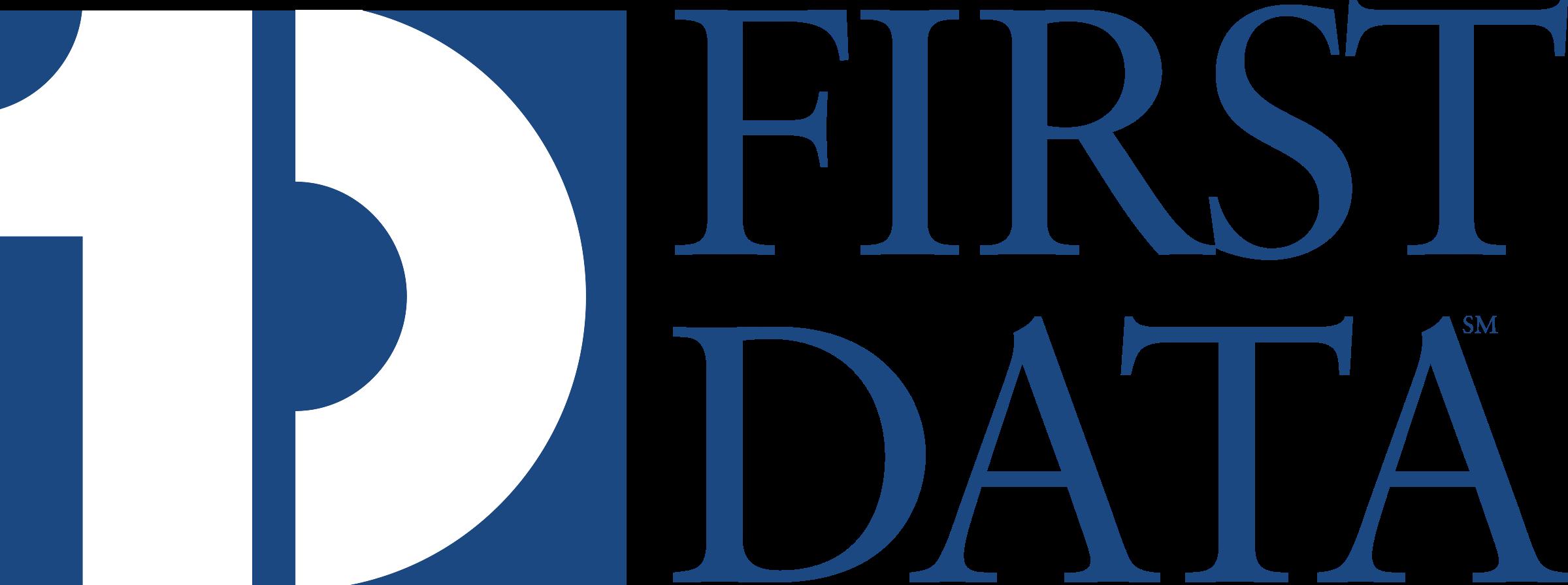 FIRST DATA 1 Logo PNG Transparent & SVG Vector.