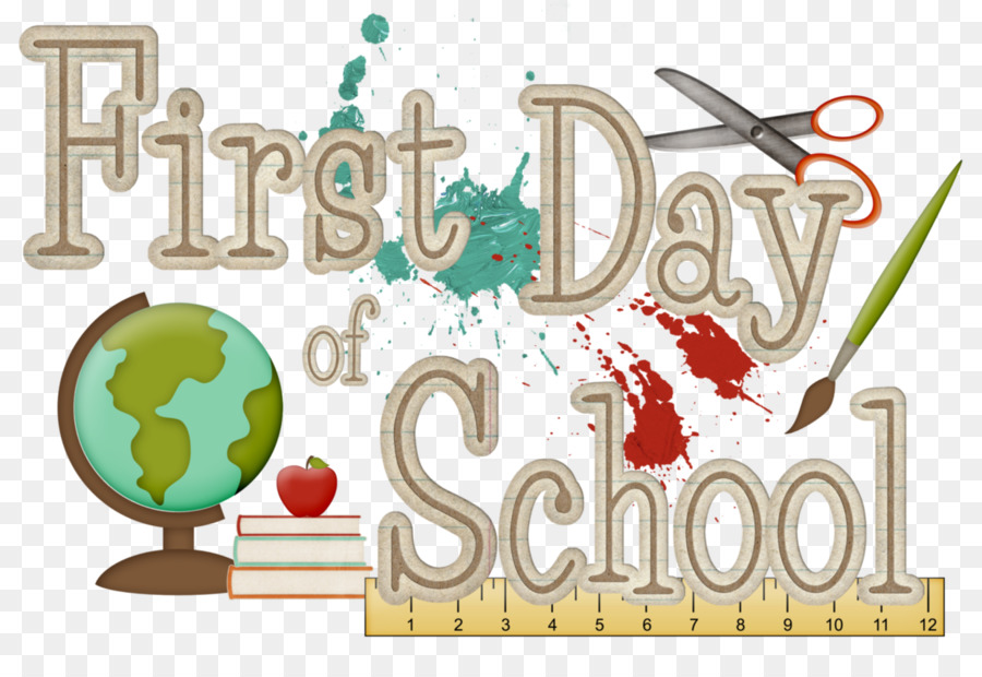 First Day Of School png download.