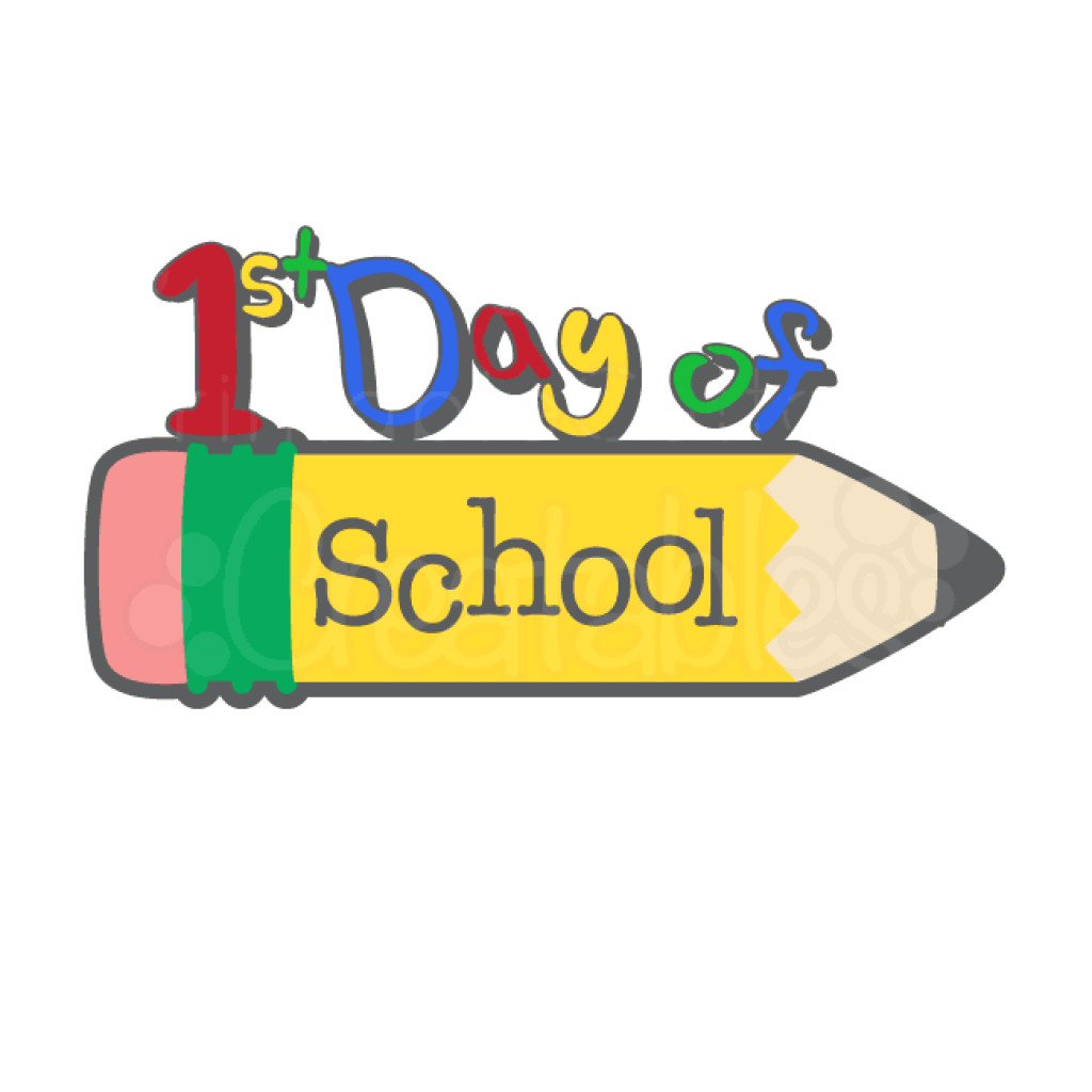 Welcome Back To School Clipart Png Ssl 1 First Day Of 5.