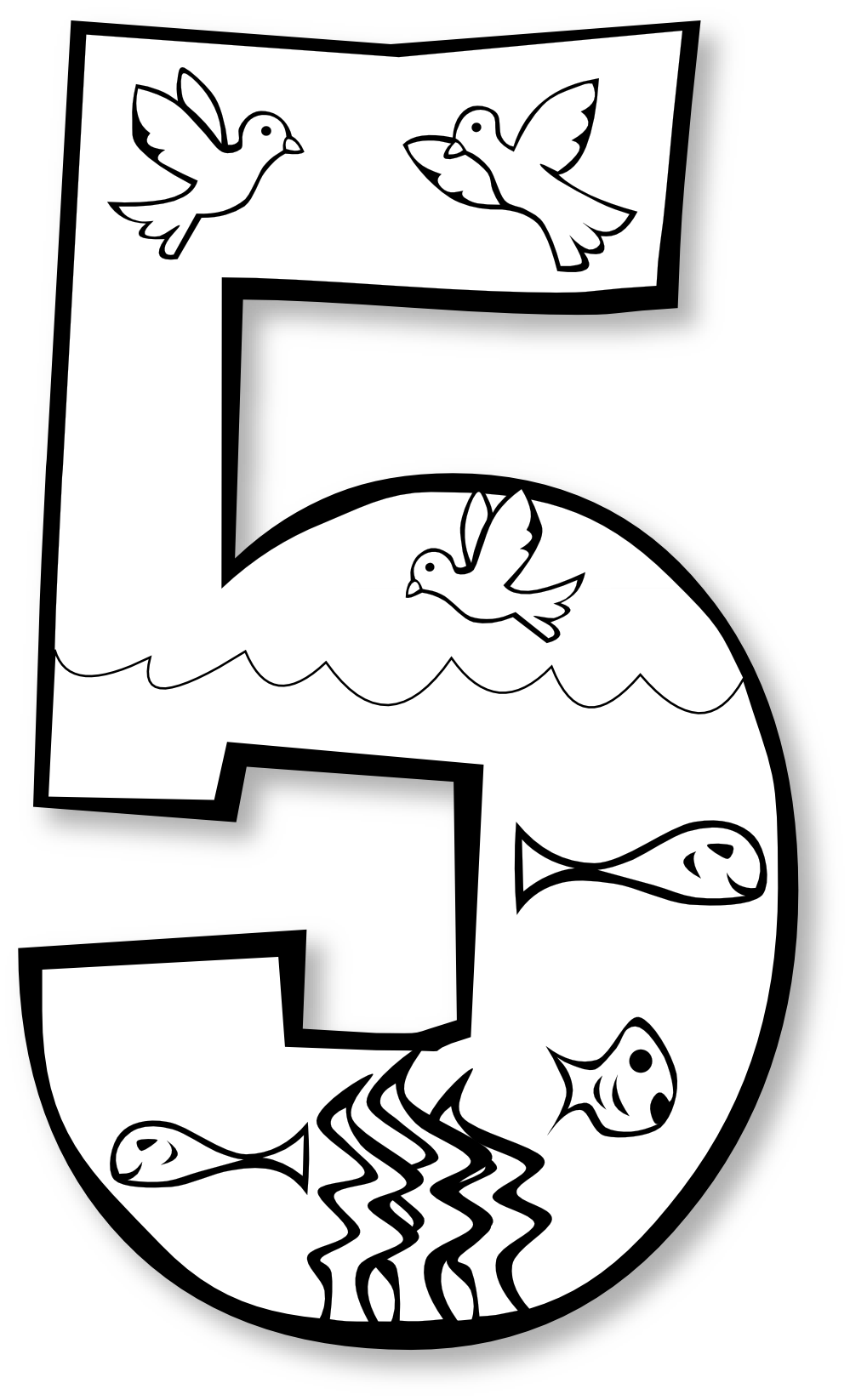 6th Day Of Creation Clipart.