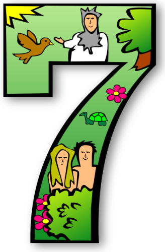 Days Of Creation Clipart.