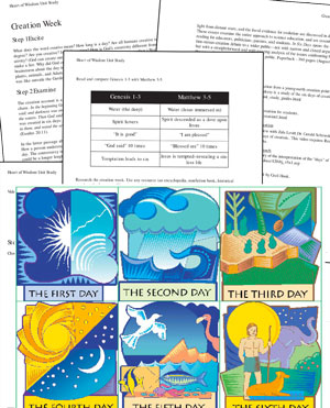 Free Days of Creation Lesson Plan & Clip Art.