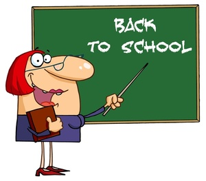 Back To School Clipart Image.