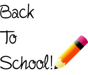 First day of school clipart #8