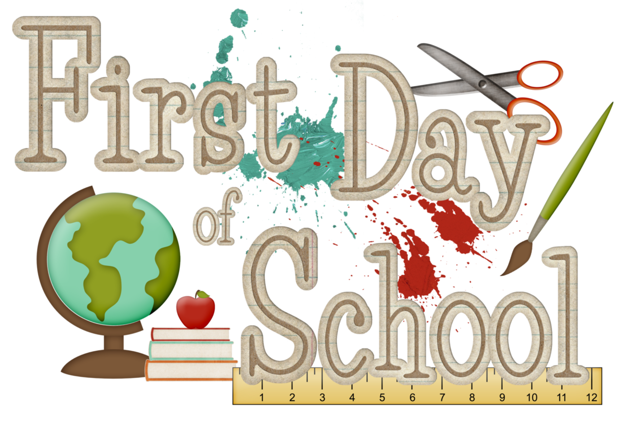 First Night Clip Art : First day of school clipart clipground