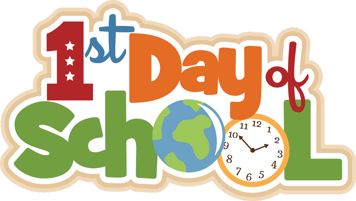First day of school clipart free 1 » Clipart Station.