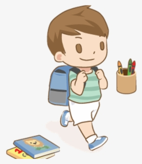 Free First Day Of School Clip Art with No Background.