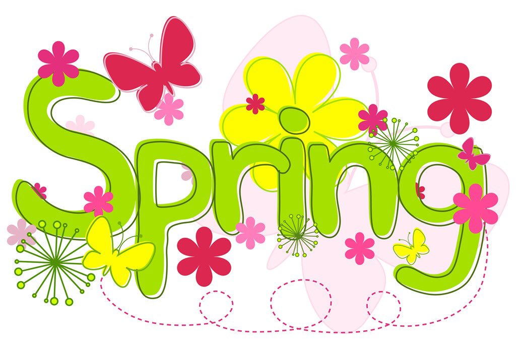 First day of spring 2018 clipart 5 » Clipart Station.