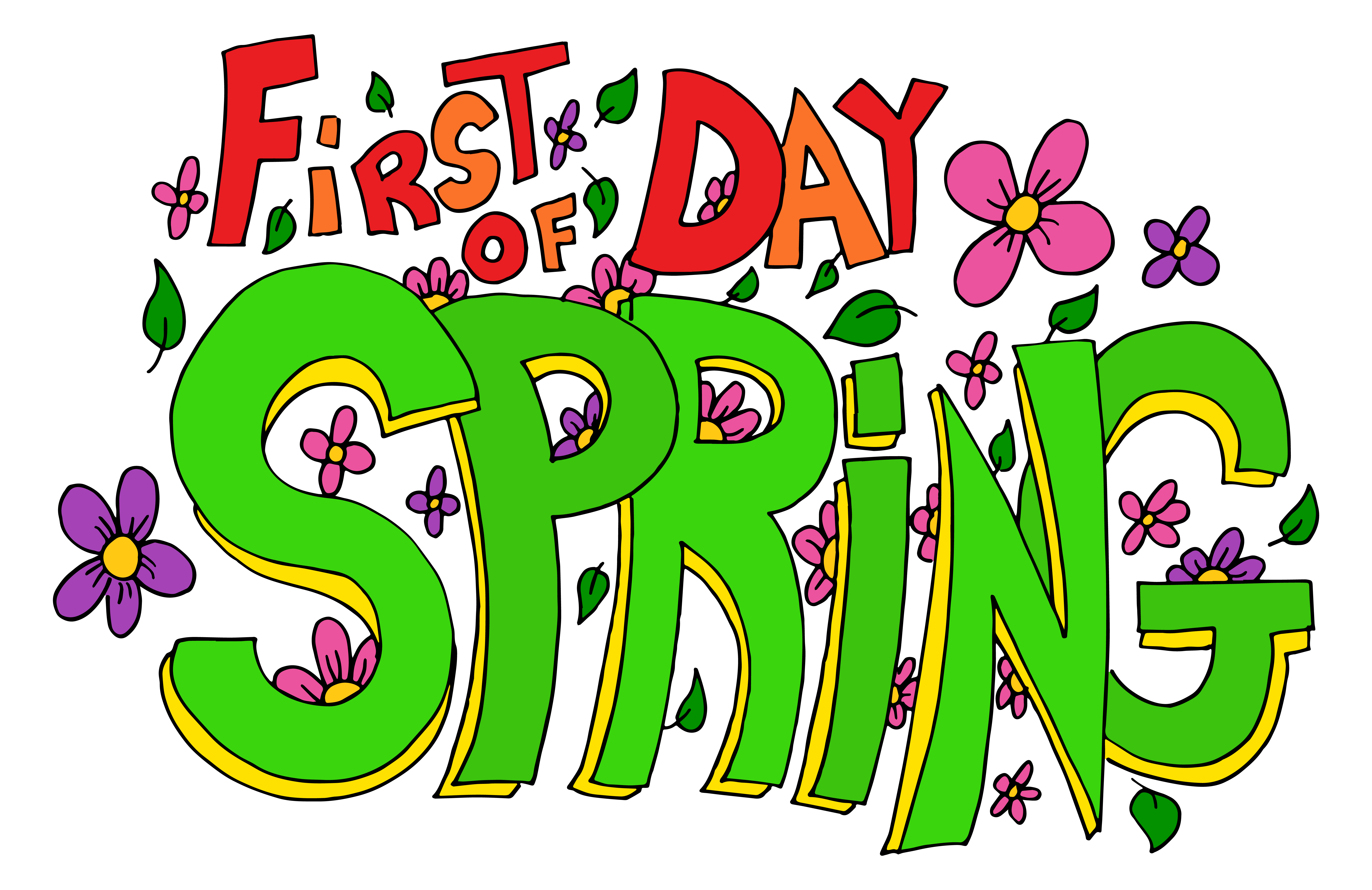 Happy First Day of Spring!.