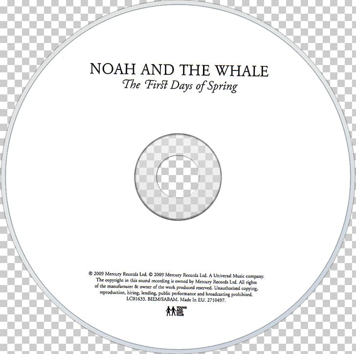 The First Days Of Spring Noah And The Whale Compact Disc.