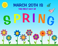 First Day Of Spring Clipart Free Download Clip Art.